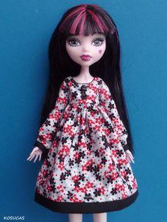 Dress for Monster High doll por Kosucas en Etsy