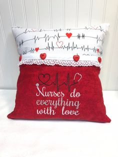 73d785c1f8b Nurse pillow reading gifts, gifts for nurse, gifts for her, Christmas gifts  for