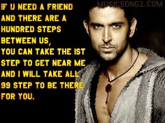 LOVE THIS!❤ This advice is from the handsome Hrithik Roshan!!