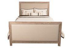 Stone Gracie Upholstered Bed on OneKingsLane.com