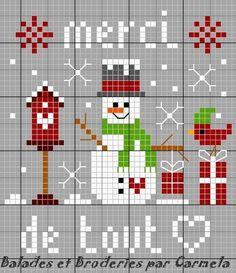 Pour vous remercier de vos bons voeux adressés à l'occasion de Noel , une petite grille pour vous en toute simplicité ... http://nsa31.casimages.com/img/2012/12/26/121226031155975843.jpg