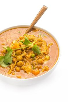 Warm curry flavors and creamy coconut milk add flavor and moisture to lean chicken breasts.