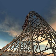 The Most Badass Wooden Roller Coaster Ever Just Opened Brace yourself for twists, turns, and killer speed in the tallest, fastest, and steepest wooden coaster on Earth.