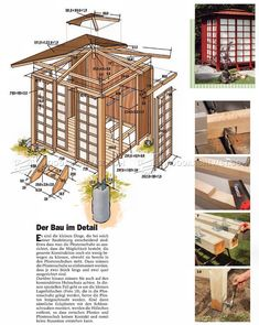Japanese Tea House Plans - Outdoor Plans