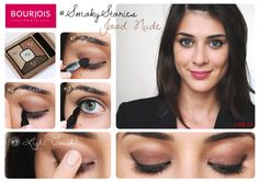 Palette d'ombres à paupières Smoky Stories teinte Good Nude de Bourjois #smoky #stories #smokystories #goodnude #tuto #yeux #nude #marron #cuivre