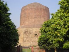 Asoka's Dagoba, Saranath, India