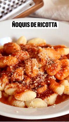 Kitchen Recipes, Cooking Recipes, Healthy Recipes, Comida Diy, Ricotta, Deli Food, Tasty, Yummy Food, Perfect Food