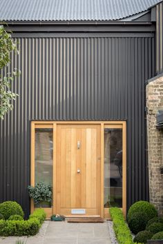PiP Architecture provides CIAT certified, Eco-friendly, Residential Design and Architectural Services in East Anglia. Zinc Cladding, House Cladding, Exterior Cladding, House Siding, Facade House, Renovation Facade, Porche, Shed Homes, House Entrance