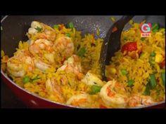 ¡Irresistible arroz con camarones!