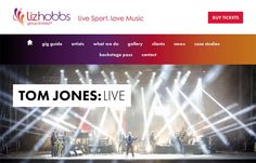 Liz Hobbs Group - Good responsive work by Root Studio on the Liz Hobbs Group site out of the UK. Has a smart integration with Spotify to give you a taste of their artists, as well as hi-res images and color splashes to set a vibrant tone. Hobbs, Buy Tickets, Case Study, Color Splash, Insight, Vibrant, Artists, Group, Studio