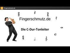 [Noten lernen] - Die C-Dur-Tonleiter