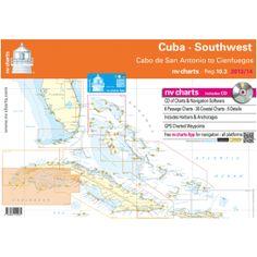NV-Charts Reg. 10.3 - Cuba - Southwest: Cabo San Antonio to Cienfuegos - £99