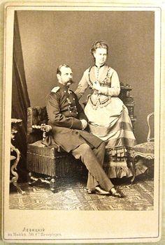 Alexander III and daughter Marie