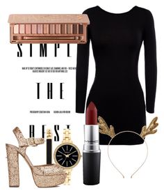 """New Years Eve"" by miss-chloe13 on Polyvore featuring beauty, Style & Co., Steve Madden, MAC Cosmetics and Urban Decay"