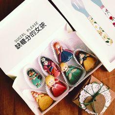 disney princess series macaron