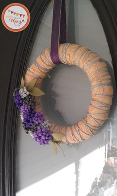 Decorative Wreath for Advent 3