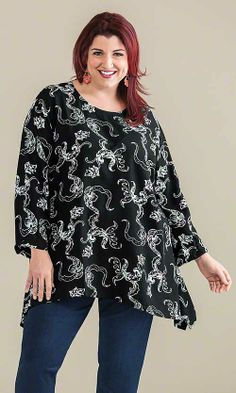 Nena Petite Tunic / MiB Plus Size Fashion for Women