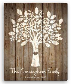 Ideas family tree canvas diy home decor Personalized Wall Art, Personalised Canvas, Personalized Wedding, Personalized Items, Diy Canvas, Canvas Wall Art, Tree Canvas, Family Tree Art, Tree Illustration