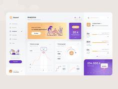 Social Media Dashboard, Social Media Analytics, Dashboard Ui, Dashboard Design, Shaving Games, Design Ios, Flat Design, Design Social, Application Design