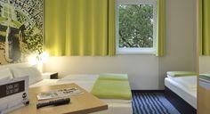 Dreibettzimmer im B&B Hotel Karlsruhe