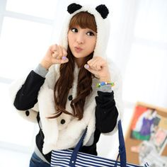 Buy '59 Seconds – Bear Ear Fleece Blanket Cape' with Free International Shipping at YesStyle.com. Browse and shop for thousands of Asian fashion items from Hong Kong and more!