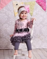 Giggle Moon Tickles And Giggles Tutu Dress & Leggings * Preorder*