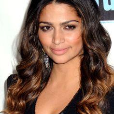 Camilla Alves. Love her hair