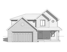 Bon Eaglewood  2 Story Style House Plan   Walker Home Design Love Elevation    Great For PArrish Lot   Rather Large But Pretty Much A Rectangle   Coulu2026
