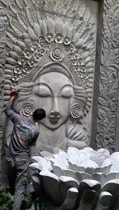 Bali Carving Production - Bali stone carving, home and garden accessories