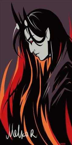 Melkor by ktrew on DeviantArt