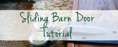 DIY Sliding Barn Door instructions... Just what I needed. Thanks