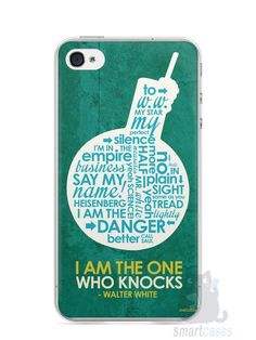 Capa Iphone 4/S Breaking Bad #5 - SmartCases - Acessórios para celulares e tablets :)