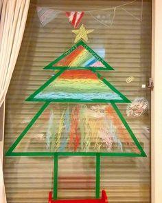 Tree Skirts, Triangle, Window, Christmas Tree, Facebook, Holiday Decor, Home Decor, Teal Christmas Tree, Holiday Tree