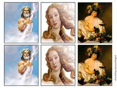 ΠΑΙΧΝΙΔΙ ΜΝΗΜΗΣ ΜΕ ΤΟΥΣ 12 ΘΕΟΥΣ  (ΜΕΜΟΡΙ)