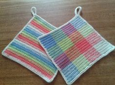 An easy crochet recipe for beautiful pot crochet crocheted in double cotton yarn with . : An easy crochet recipe for great pot crochet in double cotton yarn with needle # Crochet Art, Easy Crochet, Cotton Crochet, Weaving Patterns, Crochet Patterns, Crochet Potholders, Crochet Kitchen, Cotton Pads, Hot Pads