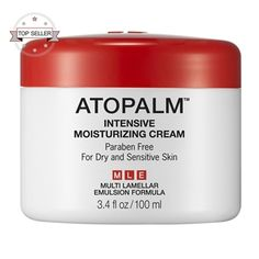 Atopalm Intensive Moisturizing Cream: Dry Skin Cream for Face, Best Moisturizer for Dry Skin & Facial Cream for Sensitive Skin Facial For Dry Skin, Cream For Dry Skin, Skin Cream, Eye Cream, Cream White, Homemade Moisturizer, Moisturizer For Dry Skin, Homemade Skin Care, Oily Skin