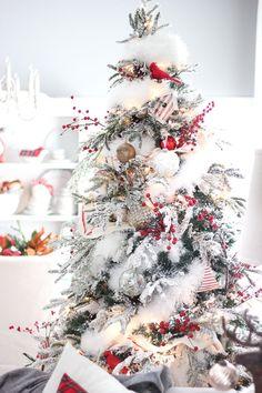 Craftberry Bush   2015 Christmas Home Tour – Part I   http://www.craftberrybush.com