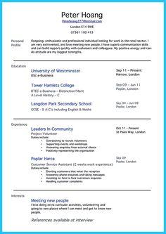 Head Barista Resume Example Projekty Do Wypróbowania Pinterest