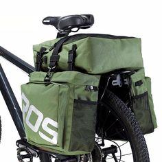 Waterproof bag with function of bicycle basket frame-7