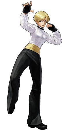 King - Pictures & Characters Art - King of Fighters XIII