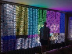 For about 7-8K, your very own LED video wall.