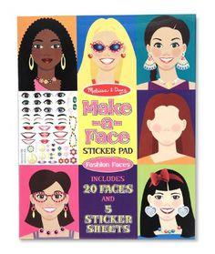 Amazon.com: Melissa & Doug Make-A-Face Sticker Pad: Melissa & Doug: Toys & Games
