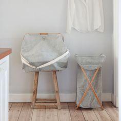 Dieser Bambus-Wäschekorb zeigt, wie formschön und edel auch banale Dinge im Haushalt sein können :-)