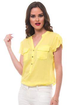 Blusa Expressions amarilla
