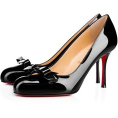 17afbfd4a369 ireland christian louboutin pigalle follies pointy toe pump 8771b 89476   coupon code for black patent shoes patent leather pumps black pumps bow  shoes court ...