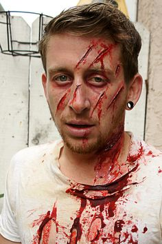 Makeup and FX by Larry Higbee, via Behance