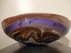 "Incalmo Jupiter Vessel, Amethyst, Glass, 8"" x 19"" x 12"", $3,100"