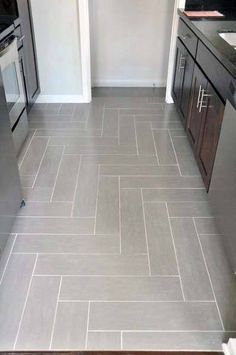 Picture Of Kitchen Tile Floor. 20 Picture Of Kitchen Tile Floor. 30 Tile Flooring Ideas with Pros and Cons Best Flooring For Kitchen, Unique Flooring, Flooring Ideas, Cheap Kitchen Floor, Slate Flooring, Awesome Kitchen, Tile Design, Layout Design, Tile Floor Designs