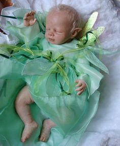 NEW fairy baby by Shawna Clymer March 2012 by Shawna Clymer on ARTwanted