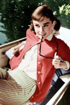 Miss Audry Hepburn